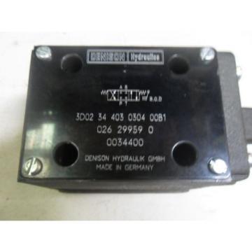 L10 Kazakhstan 1 Origin DENISON HYD3D0234403030400A MANUAL HYDRAULIC VALVE