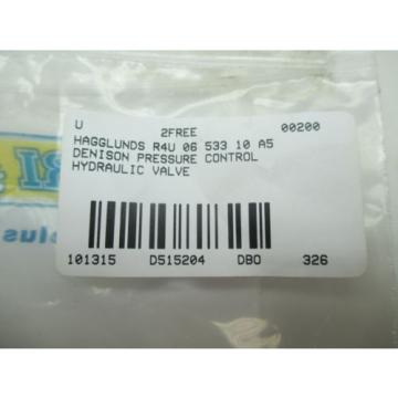 HAGGLUNDS LaoPeople'sRepublic DENISON R4U 06 533 10 A5 PRESSURE CONTROL HYDRAULIC VALVE D515204
