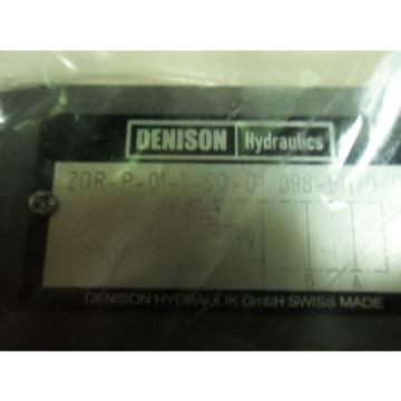 1 Fiji origin Denison Parker Zdrp011Sod1 Pressure Reducing Valve N3-3