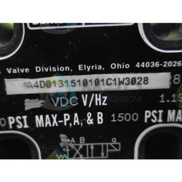 DENISON Cuba A4D013510101C1W3028 VALVE Origin NO BOX