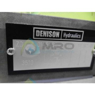 DENISON Faroe Islands  ZDV-P-01-5-S0-D1 VALVE Origin NO BOX