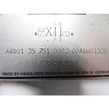 Hagglunds Kuwait Denison A4D01 35 751 0902 00A1W01328 Directional Control Valve
