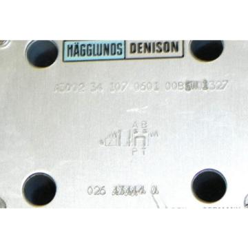 HAGGLUNDS Iceland DENISON A3D02-34-107-0601-00B5W01327 DIRECTIONAL VALVE HYDRAULIC
