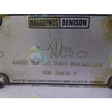 DENISON Ethiopia HYDRAULICS A4D01 35 151 0101 00A1W01328 HYDRAULIC VALVE NO COIL USED