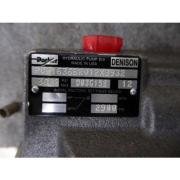 Origin ElSalvador PARKER DENISON PISTON PUMP PVP1636BRV12X3932