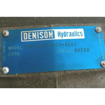 DENISON Algeria HYDRAULICS M4C-043-1N00-A102 M4 HYDRAULIC VANE MOTOR M4C0431N00A102