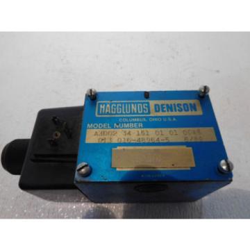 Denison LaoPeople'sRepublic A3D0234-151-01-01-00A5 D05 Hydraulic Directional Valve 120Volt