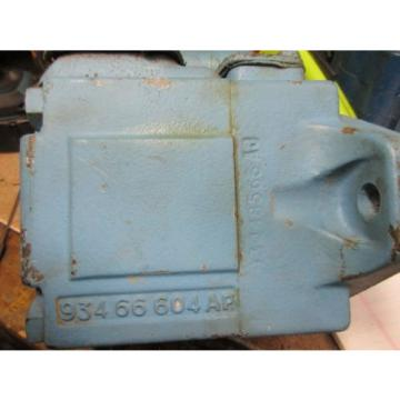 Hagglunds French Guiana  Denison Hydraulic Vane Motor