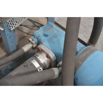 Rexroth Gibraltar  PVQ-1/162-122RJ156DDMC hydraulic pumps and 30 KW 40HP motor 6 pole motor