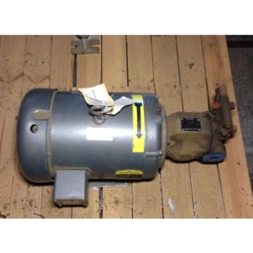 Origin Christmas Island  BALDOR 75 HP MOTOR 1725 RPM WITH REXROTH pumps R910946934 pumps MOTOR