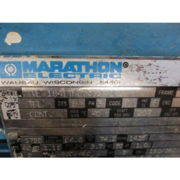 MARATHON Hungary MOTOR VL 184TTFL7371AN L TFL REXROTH pumps AA10VS045DR/30R PV020 SS1S
