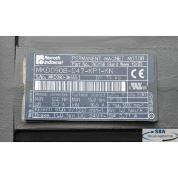 Neuer Luxembourg Indramat Rexroth Servomotor  Typ: MKD090B-047-KP1-KN