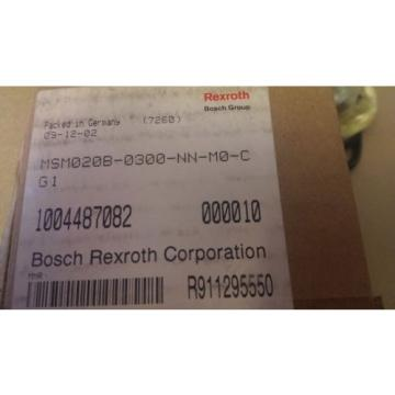 Rexroth Kyrgyzstan Indramat R911295550 MSM020B-0300-NN-M0-CG1 Servo Motor