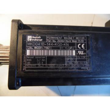 Rexroth Guam Indramat MKD041B-144-KG0-KN AC Servomotor gebraucht gut
