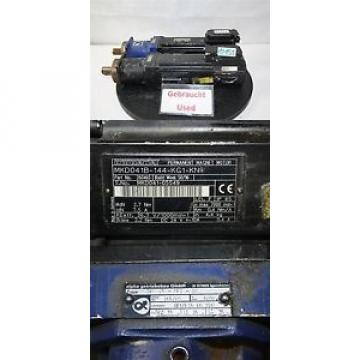 Indramat Chile rexroth MKD041B-144-KG1-KN SERVOMOTOR con alpha servo motor