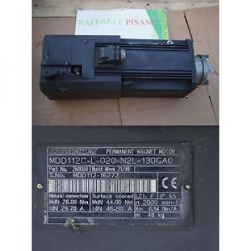 REXROTH Jordan INDRAMAT MDD112C-L-020-N2L-130GA0