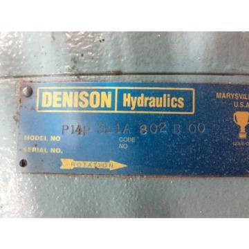 P14P3L1A802BOO ElSalvador Denison Gold Cup Pump PARKER
