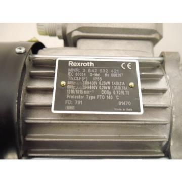BOSCH Faroe Islands  REXROTH 3842532421 0,25kw Winkelgetriebe Getriebemotor
