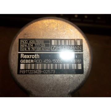 REXROTH WesternSahara ENCODER FEEDBACK GEBEROD 429/5000 R911223429-02573 HEIDENHAN WI511LVA5