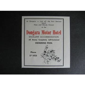 Dongara Libya Motor Hotel Port Denison Peter amp; Wendy Vincent