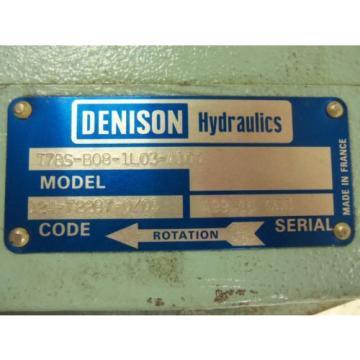 DENISON Djibouti T7BS-B08-1L03-A100 MOTOR USED