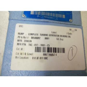 DENISON Liberia T6C-012-1R01-C5 MOTOR USED