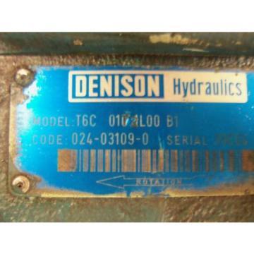 DENISON Guam T6C-0172L00-B1 MOTOR USED