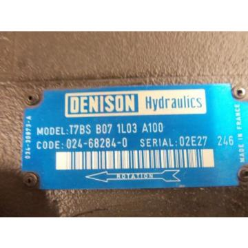 DENISON Equatorial Guinea  T7BS-B07-1L03-A100 MOTOR Origin NO BOX