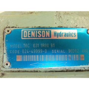 DENISON Djibouti T6C-031-1R00-B1 MOTOR USED