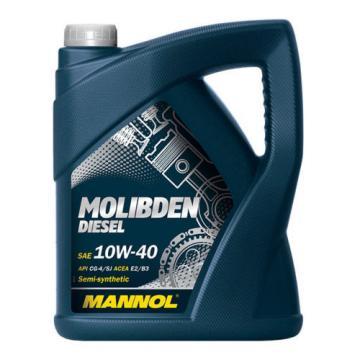 6L Lebanon MANNOL Molibden Diesel 10W-40 API CG-4/CF-4/SJ Motoröl Öl 10W40 ACEA E2/B3/A2