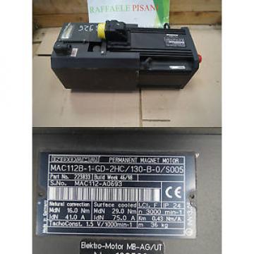 REXROTH Comoros INDRAMAT MAC112B-1-GD-2HC/130-B-0/S005
