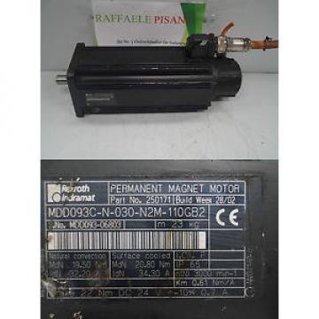 REXROTH Guatemala INDRAMAT MDD093C-N-030-N2M-110GB2