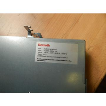 Rexroth DominicanRepublic Einzelachs-Wechselrichter HMS011N-W0020-A-07-NNNN GEB