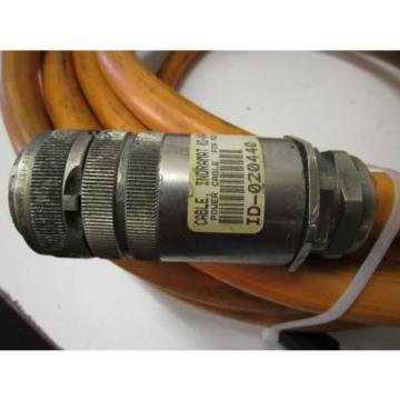 INDRAMAT Israel REXROTH IKL0141 125M MOTOR POWER CABLE ASSEMBLY - USED - FREE SHIPPING