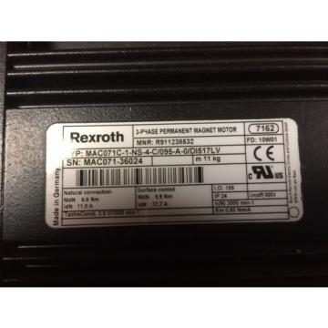 Moteur Germany  Rexroth Indramat MAC071C-1-NS-4-C/095-A-0/DI517L | Permanent Magnet MOTOR