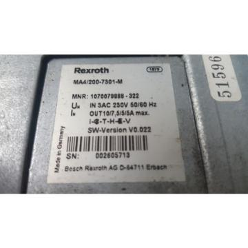 REXROTH SriLanka ROBOT CONTROLLER MODULE MA4/200-7301-M
