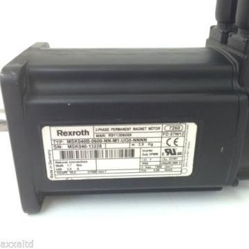 Servo Israel Motor MSK040B0600NNM1UG0NNNN Rexroth MSK040B-0600-NN-M1-UG0-NNNN