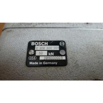 BOSCH Italy  REXROTH PS50 0-608-600-003, PRESS SPINDLE  w/MEASUREMENT CONVERTER