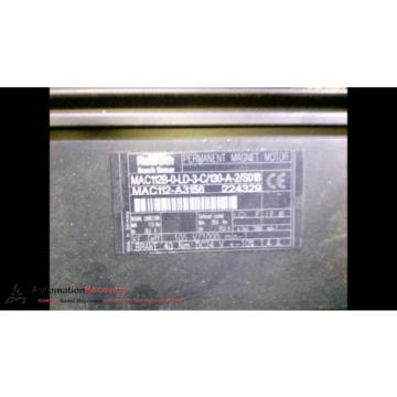 REXROTH Latvia MAC112B-0-LD-3-C/130-A-2/S018 PERMANENT MAGNET MOTOR,  NATURAL #192674