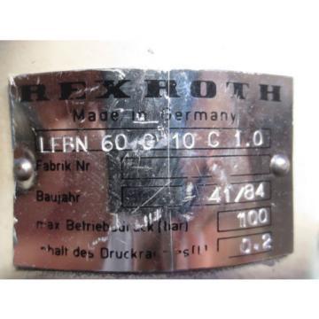 REXROTH Ethiopia MOTOR HYDRAULIC UNIT LFBN 60 G 10 C 10 LFBN60G1 C10