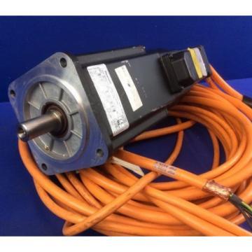 REXROTH Kazakhstan MKD071B-061-GG1-KN SERVO MOTOR W/ 29#039;Long MOTOR FEEDBACK amp; POWER CABLES