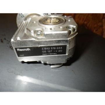 Rexroth Israel 3 842 503 582 w/ Gearbox 3 842 519 244