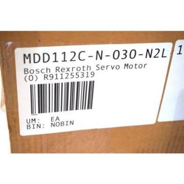 Origin Hungary REXROTH MDD112C-N-030-N2L DIGITAL AC SERVO MOTOR MDD112CN030N2L