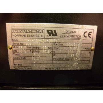 Rexroth Colombia / Indramat MDD112D-N-030-N2M-180PA0 Servo Motor, p/n: 262272