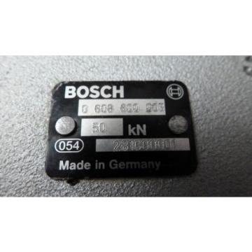 BOSCH Dominica  REXROTH PS50 0-608-600-003, PRESS SPINDLE  REMAN w/MEASUREMENT CONVERTER