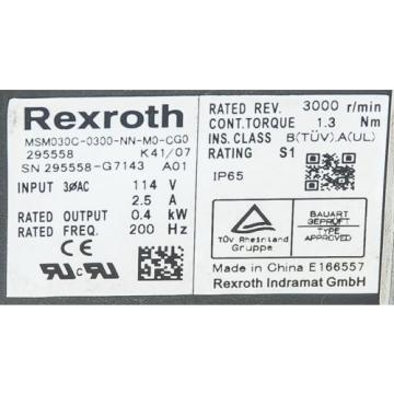 REXROTH India  MSM030C-0300-NN-M0-CG0 ALPHA LP 070-M01-5-11-000