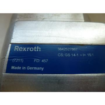 REXROTH Morocco  3842527867 ANGLE GEAR CS: GS 14-1  I=15:1 Ø 11MM or 6kant 17mm