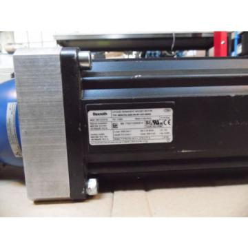 Rexroth Great Britain (UK)  3~ Permanent Magnet Motor MSK 076C-0450 mit Alpha Winkelgetriebe SK0755