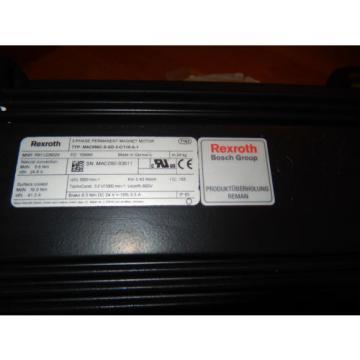 REXROTH Guyana MAC090C-0-GD-3-C/110-A-1, R911226029, Tacho, Brake 65Nm, Servomotor