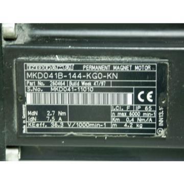 Rexroth Latvia Indramat MKD041B-144-KG0-KN mit Alpha Getriebe CP 70-M01-5-111